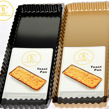 14 Inch Big Size Non-stick Coating Toast Boxes Bread Loaf Pan Cake Mold Baking Tool Toast Baking Pan Cake Pan Toast Pans