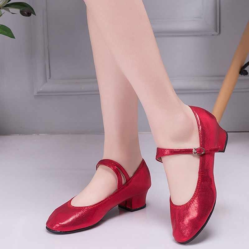 Grils moderna sapatos de dança feminina sapatos de dança de salão de dança latina para as mulheres moda alta qualidade sapatos de lazer ao ar livre novo