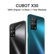 Teléfono Inteligente CUBOT X30 de 6,4 pulgadas, NFC, cámara de 48MP, cinco cámaras, 32MP, Selfie, 8 + 256GB, Android 10, 4G, LTE, versión Global, batería de 4200mAh
