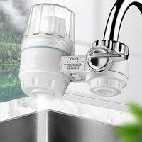 ห้องครัวก๊อกน้ำเครื่องกรองน้ำเปิดใช้งานคาร์บอนล้างทำความสะอาดได้เซรามิค Percolator-ช่วยลดคลอร...