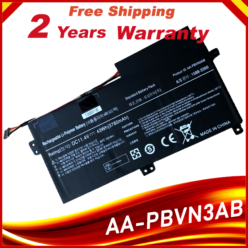AA-PBVN3AB <font><b>Laptop</b></font> Battery For <font><b>SAMSUNG</b></font> NP370R4E NP370R5E NP370R5V NP450R4E NP450R5E NP450R4V NP450R5V <font><b>NP470R5E</b></font> NP510R5E image