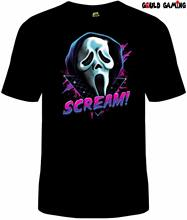 Scream Movie Ghost Face Mask T-Shirt Unisex Horror Halloween Adult Sizes New custom printed tshirt Fashion Style Men Tee,(China)