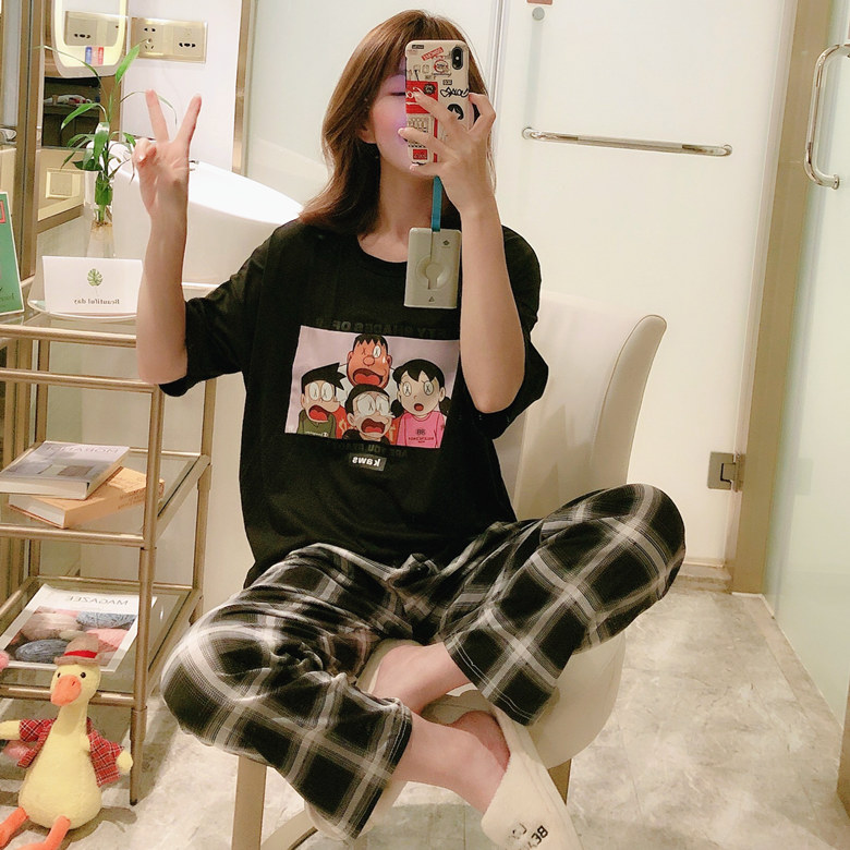 New Arrival Comfortable Pajamas For Women Long Sleeve Suits Cotton Made Casual Girl's Pajamas Comfortable Sleepwear Indoor Wear