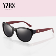 цены YZRS Brand Retro Polarized Sunglasses Women Vintage Plastic Women's Summer Sun Glasses Driving Shades Fashion Eyewear
