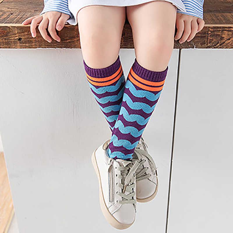 От 3 до 8 лет милые вязаные носки для маленьких девочек детские гольфы мягкие