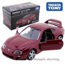 Takara Tomy Tomica № 02 Toyota SUPRA модель комплект 1: 62 Премиум игрушечных автомобилей популярные детские литые игрушки миниатюрный Mini roadster, пресс-форма