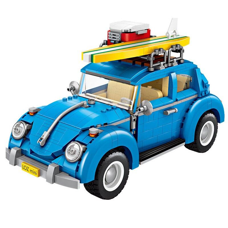 Image 2 - لوز تكنيك كتل صغيرة نموذج سيارة مركبة اللبنات سباق السيارات بيع الآيس كريم هوت دوج شاحنة الطوب ألعاب تعليمية هداياحواجزالألعاب والهوايات -