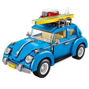 Image 2 - לוז טכני מיני בלוקים רכב רכב דגם אבני בניין מכונית מירוץ מכירה גלידת נקניקיות משאית החינוכי צעצועי מתנות