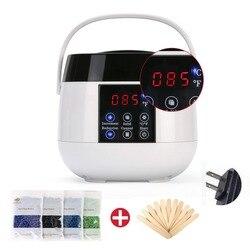 TY-218 wosk uchwyt Pot woskowanie podgrzewacz cieplej terapia depilacja parafina Salon pielęgnacja urody narzędzie do usuwania włosów z woskiem fasoli