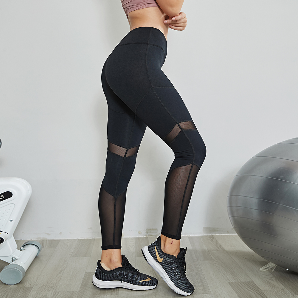 Fitness High Waist Legging Tummy Control Seamless Energy Gymwear Workout Running Activewear Yoga Pant Hip Lifting Trainning Wear 4