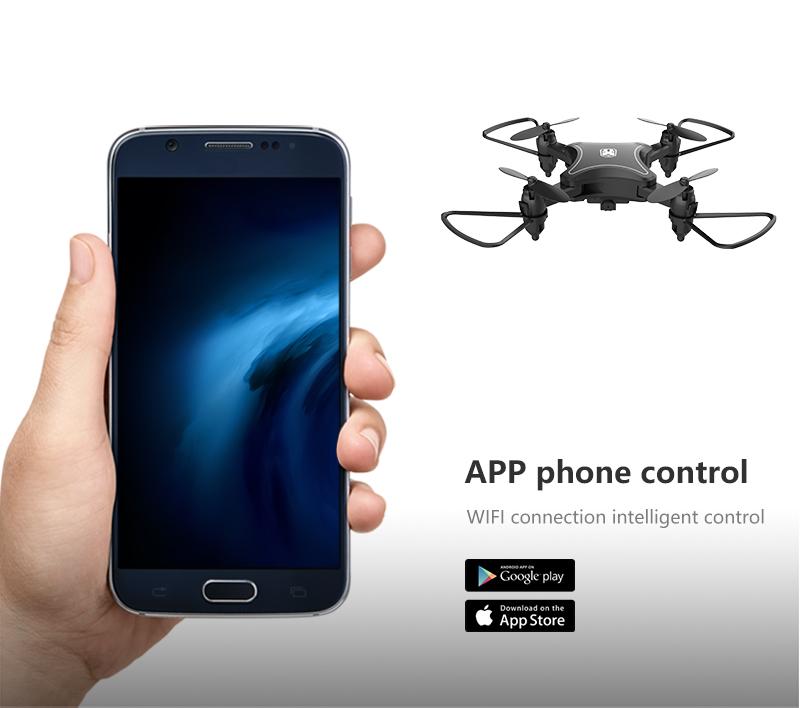 XKJ KY902 Mini Drone Quadcopter con cámara 4K HD 10