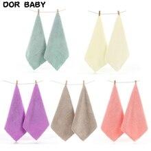 2 Pcs Handkerchief Baby Face Hand Bathing Towel Infant Face Towel Wipe Cloth 54DA