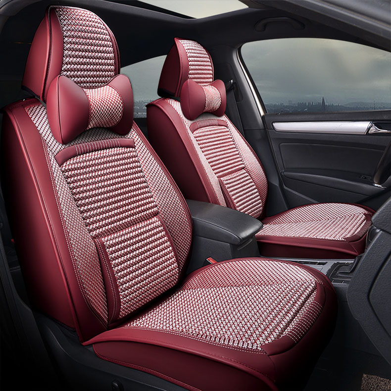 GEEAOK 2018 new Car seat cover leather <font><b>for</b></font> skoda yeti opel renault <font><b>peugeot</b></font> <font><b>407</b></font> volvo lada <font><b>interior</b></font> <font><b>accessories</b></font> car styling image