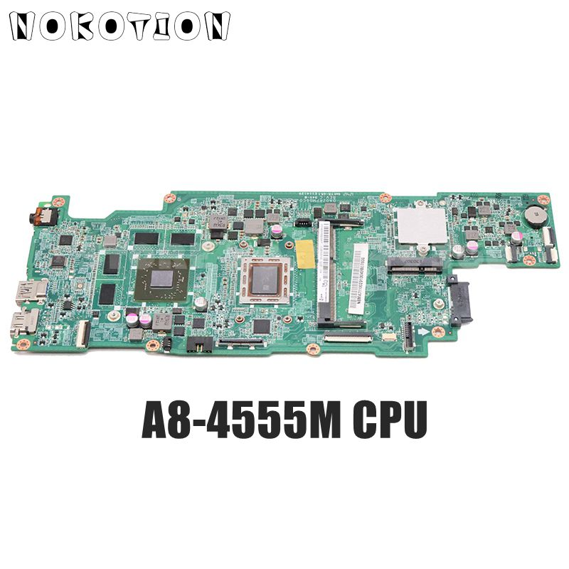 NOKOTION для Acer ASPIRE V5-551 V5-551G материнская плата для ноутбука NBM4711002 NB. M4711.002 DA0ZRPMB6C0 A8-4555M процессор DDR3 HD7650M протестирован