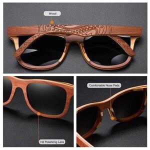 Image 2 - GM Polarisierte Skateboard Holz Sonnenbrille Männer UV400 Designer Sonnenbrille Brillen Gafas De Sol De Los Hombres Polarizados S4832