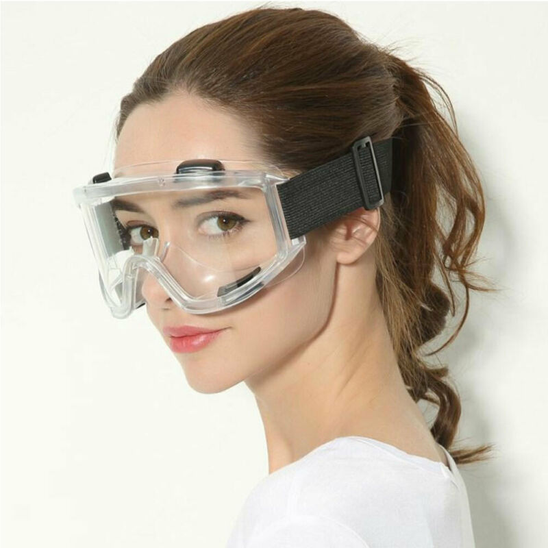 Safety Lab Glasses Protective Virus Medical Goggles Chemical Industrial Eyewear