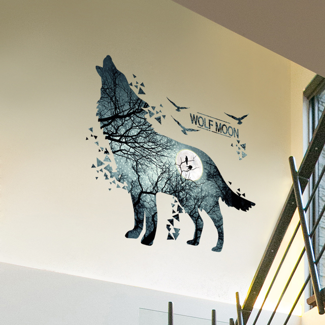 Wolf Forrest 81*74cm Wall Covered 8