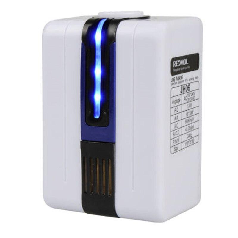 Ionizador purificador de aire para el hogar generador de iones negativos 9 millones elimina el humo de formaldehído Purificación de polvo Pm2.5
