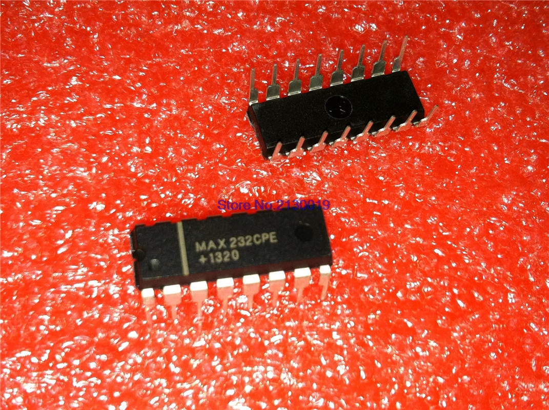 IC MAX232CPE MAX232 2DVR//2RCVR RS232 5V 16-DIP