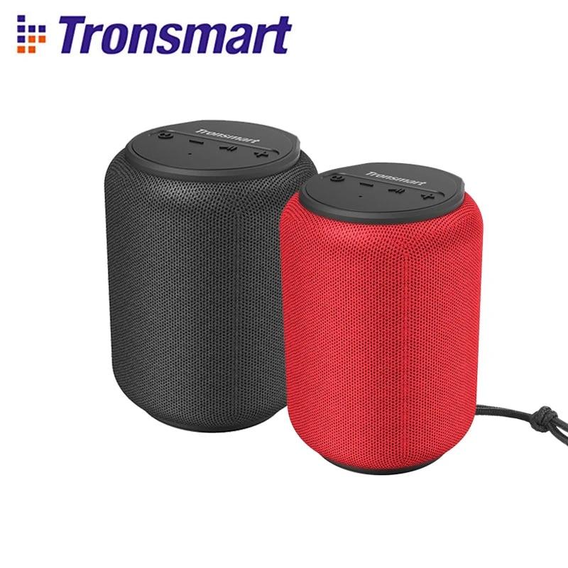 Tronsmart Element T6 Mini Bluetooth 5.0 Speaker with Voice Assistant,360-Degree Surround, Deep Bass, IPX6 Waterproof