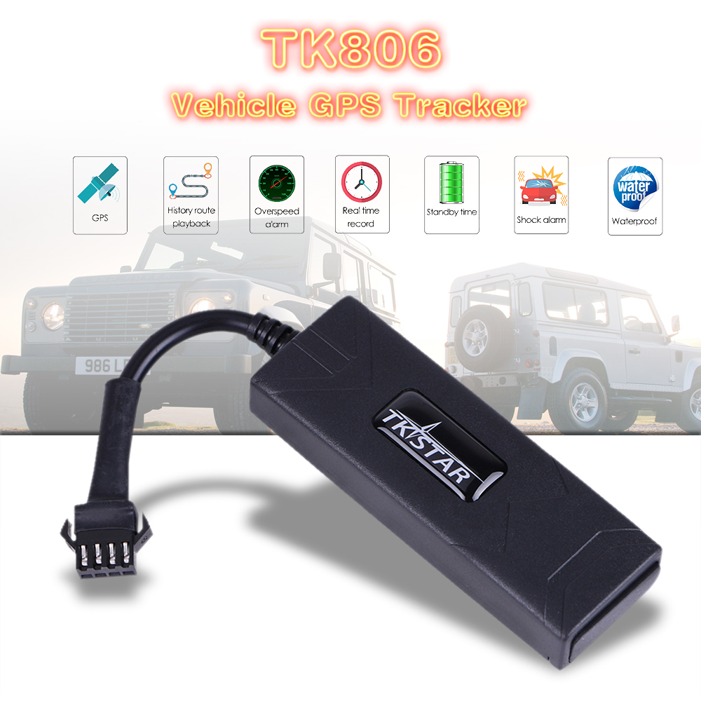 Multi function Mini Car GPS Tracker TK806 For Vehicle Real time Locator Support Cut Off The Oil Add ACC/Overspeed/Remove Alarm|GPS Trackers|   - AliExpress