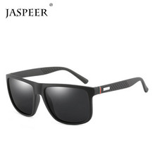 цены JASPEER Men Vintage Polarized Sunglasses Classic Brand Male Sun glasses Outdoor Sport Driving UV400 Eyewear Очки