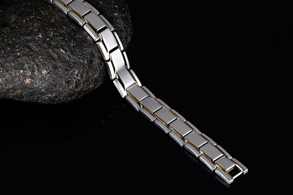 Mens magnetic bracelet 16