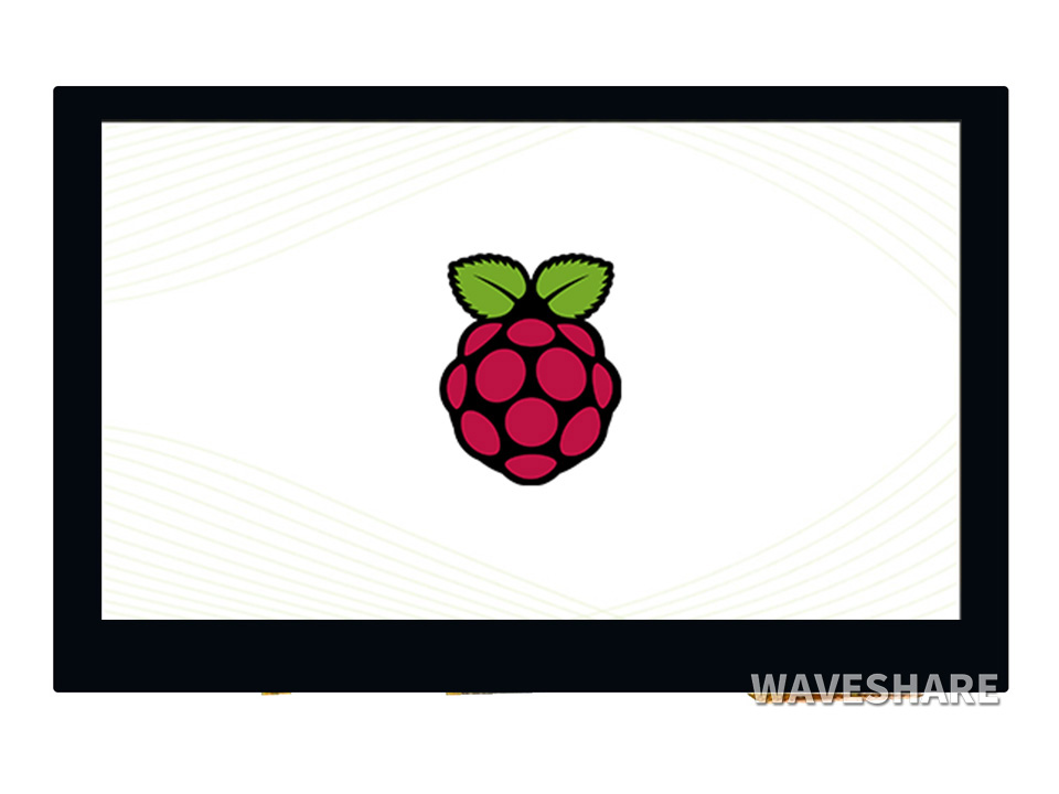 4.3inch DSI LCD Capacitive Touch Display For Raspberry Pi 800×480 Resolution MIPI DSI Interface  IPS Wide Angle