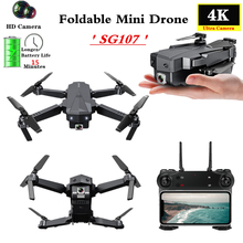 KaKBeir SG107 Mini Drone With WIFI FPV Wide Angle HD 4K 1080P Camera Hight Hold