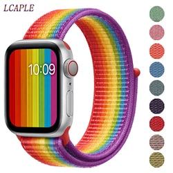 Band Für apple watch strap apple watch 5 band 44mm 40mm Correa 42mm 38mm iwatch 5 4 3 2 1 nylon pulseira armband armband gürtel