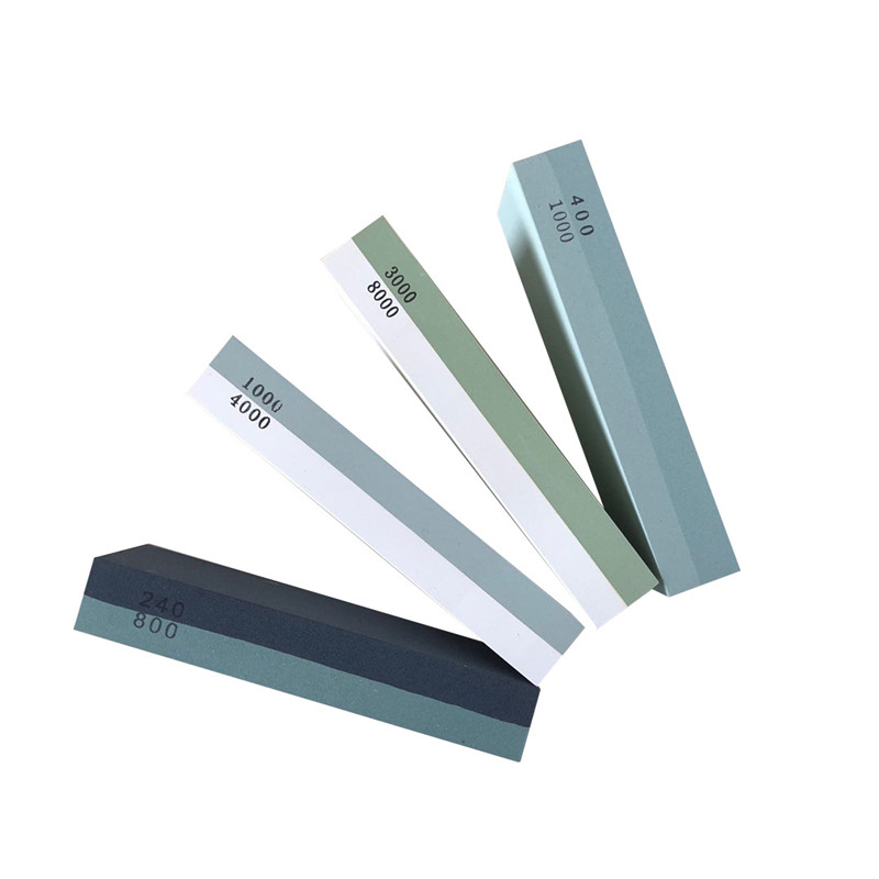 Knife Stone Sharpening Grind 240/800 <font><b>1000/3000</b></font> Grit Corundum Double Side <font><b>Whetstone</b></font> Oil Stone Honing Water Stones image