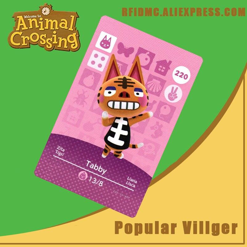 220 Tabby Animal Crossing Card Amiibo For New Horizons