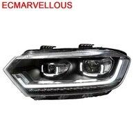 Neblineros Drl Automobiles Assessoires Luces Led Para Auto Lamp Headlights Car Lights Assembly 16 17 18 FOR Volkswagen C TREK