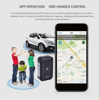 GF21 Mini GPS Real Time Car Tracker Anti-Lost Device Voice Control Recording Locator HD Microphone WIFI+LBS+GPS Pos Locator 5