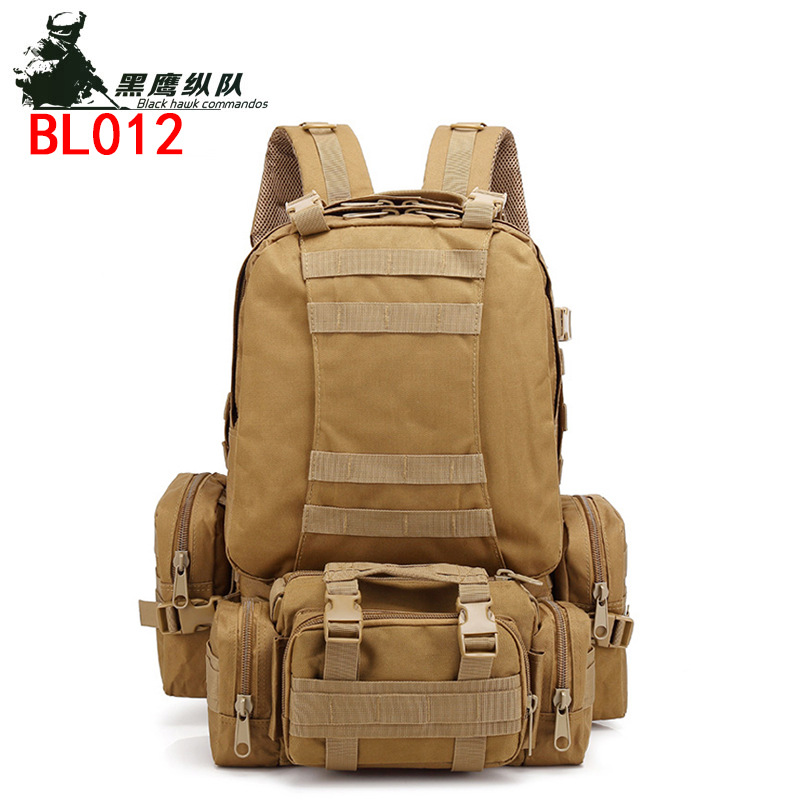 Grande combinaison sac à dos Oxford tissu sac à dos en plein air armée Camouflage randonnée sac tactique hommes sport sac à dos