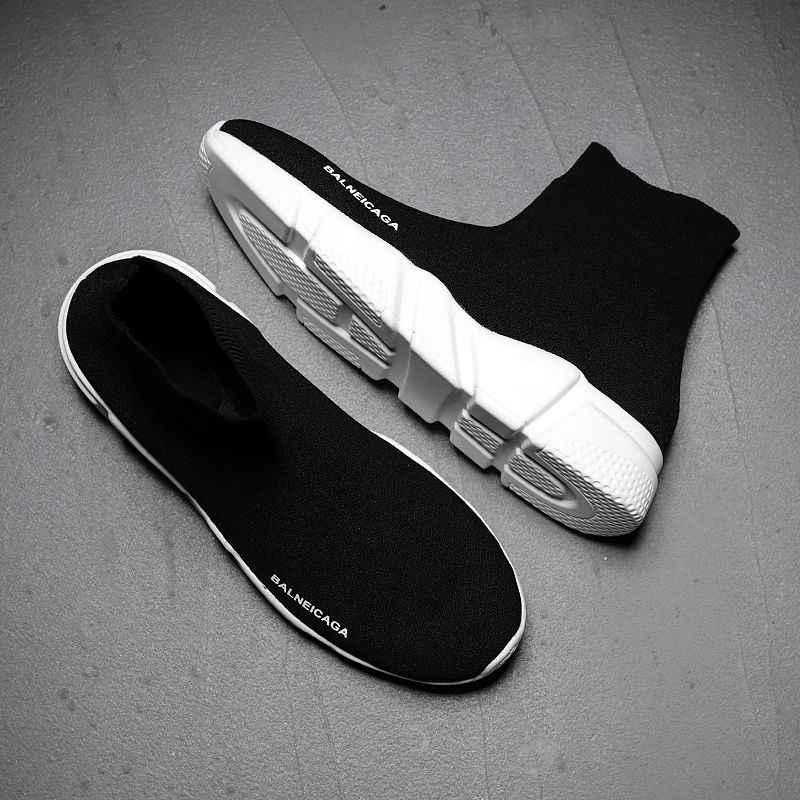 2020 Ademend Holle Paar Sokken Schoenen Trendy Mannen Casual Schoenen Chaussures Homme Loafers Mannen Comfortabele Sneakers Mannelijke Schoenen