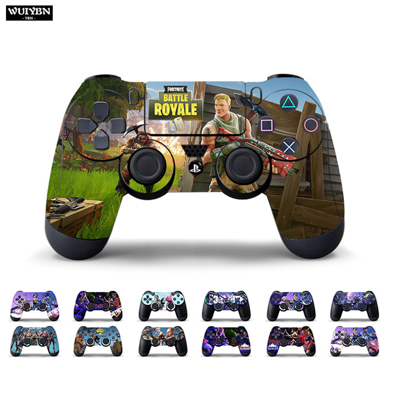 WUIYBN Gamepad Sticker For PS4 Controller Sony Playstation 4 PRO Controller Sticker Skin image