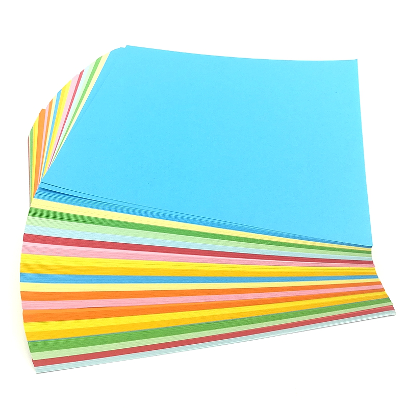 15x15cm Origami Square Cardboard Large Double-sided Color Paper Children's Kindergarten Color Handmade Cutting Materials Paper