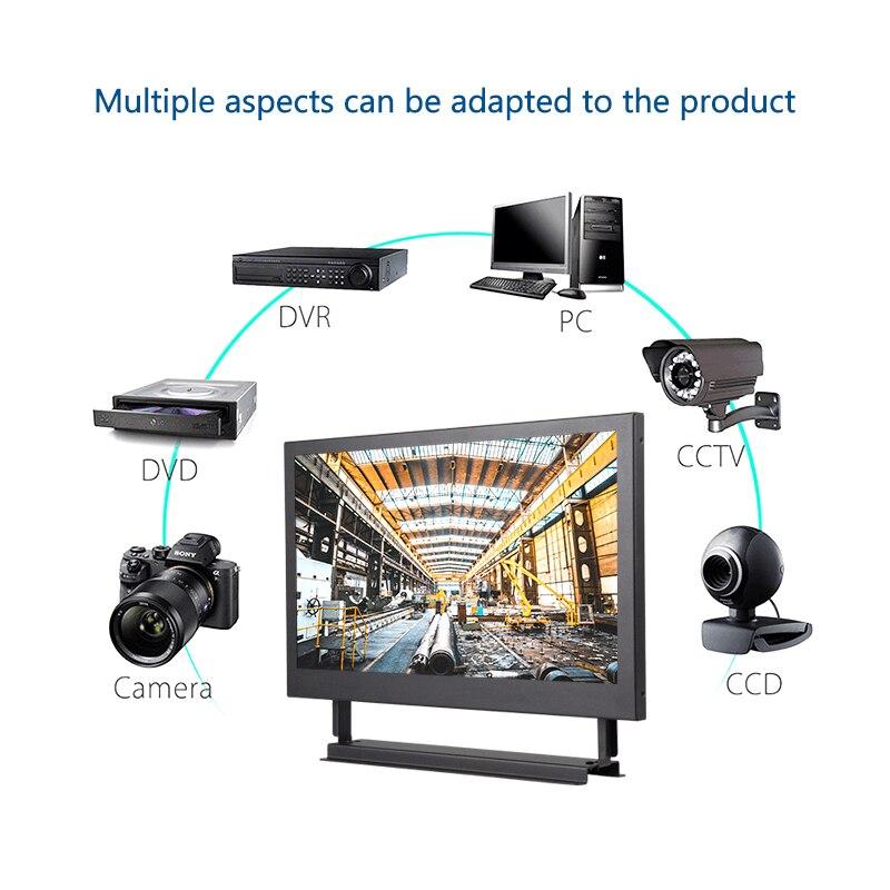 Nouveau 13.3/15.6 ''1366x768 moniteur d'ordinateur Portable PC HDMI PS3 PS4 Xbox360 HD IPS LCD 10.1/11.6 pouces moniteur d'affichage pour caméra