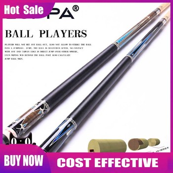 CUPPA New Arrival Korea 3 Cushion Cue Carom Cues 13mm Tip 147cm Length 520g Carrom  Cue Stick Professional Handmade China 2019