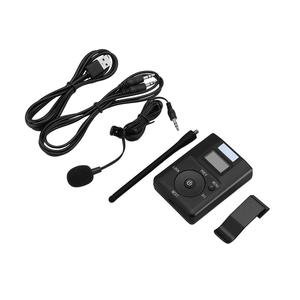 Image 1 - Portable 3.5MM AUX Low power Wireless FM Transmitter Stereo Radio Broadcast Adapter Support TF card For Xiaomi  MP3 PC CD