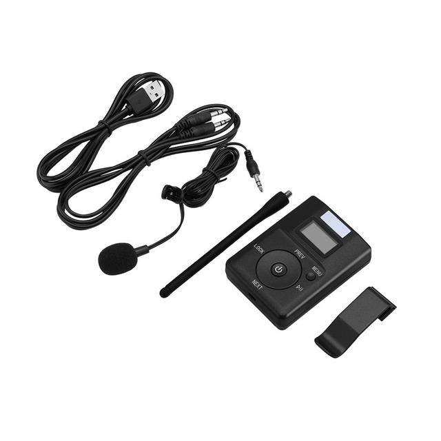 Portable 3.5MM AUX Low power Wireless FM Transmitter Stereo Radio Broadcast Adapter Support TF card For Xiaomi  MP3 PC CD