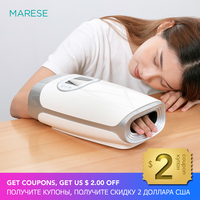 MARESE Electric Palm Hand Massager Air Compression Massage Protector Hot Compress Beauty Hand Care Finger Numbness Pain Relief