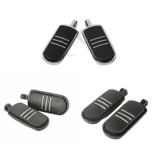 Motorcycle Streamliner Style Black Foot Pegs For Harley V-Rod Dyna 02-13 Indian Chief 99-13