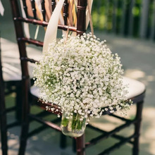 1 2 3 głowice wiśniowe kwiaty sztuczne kwiaty oddech dziecka Gypsophila sztuczne kwiaty DIY dekoracje ślubne strona główna Faux kwiaty tanie tanio CYZQ Cherry Kwiat Oddział Ślub
