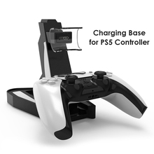 Dual Fast Charger for PS5 Wireless Controller Dual USB C Charging Dock Station Cradle for Sony PlayStation5 DualSense Joystick