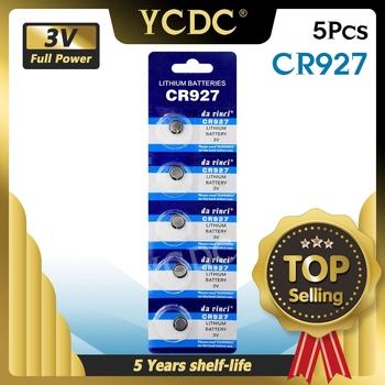 """YCDC 5 sztuk 3V CR927 litowo-jonowy proszę kliknąć na przycisk """" ogniwa monetowe baterie 927 DL927 BR927 CR927-1W ECR927 5011LC KCR927 LM927 Bateria tanie i dobre opinie CN (pochodzenie) NONE 0 9cm 0 35 Li-ion EE6216 cr927 BR927 China (Mainland) 0 007"""