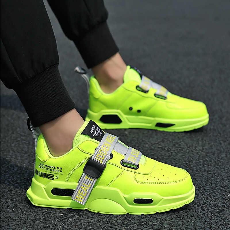2020 sommer Männer Schuhe Atmungsaktiv Leicht Männer Mode Turnschuhe Mesh Laufschuhe Komfortable Wohnung Männlichen Casual Zapatos Hombre