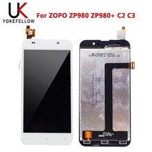 ЖК дисплей для ZOPO ZP980 ZP980 + C2 C3, ЖК дисплей с дигитайзером, сенсорный экран в сборе