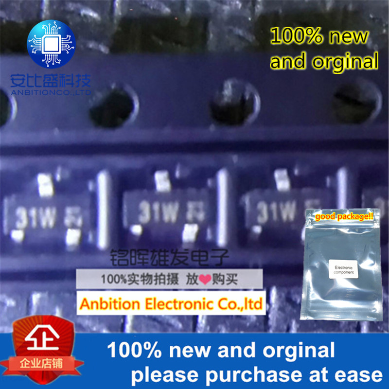 10pcs 100% New And Orginal BFR505 Silk-screen 31W SOT23 NPN 9 GHz Wideband Transistor In Stock